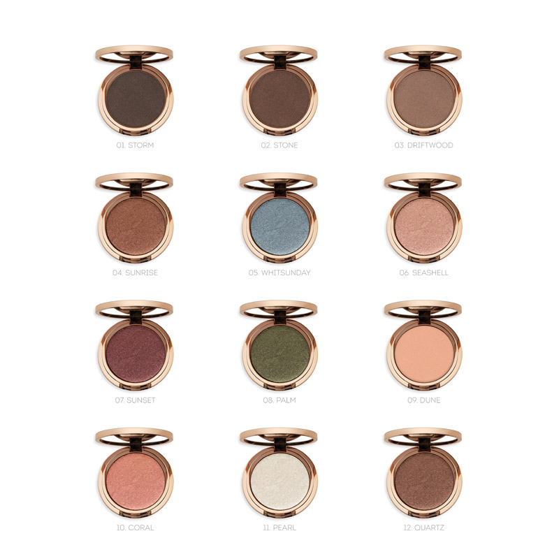 Natural Illusion Pressed Eyeshadow - Nude by Nature CA