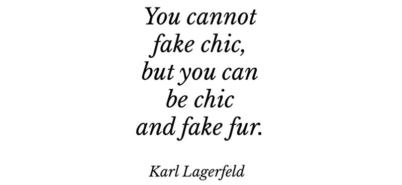 Zitat Karl Lagerfeld