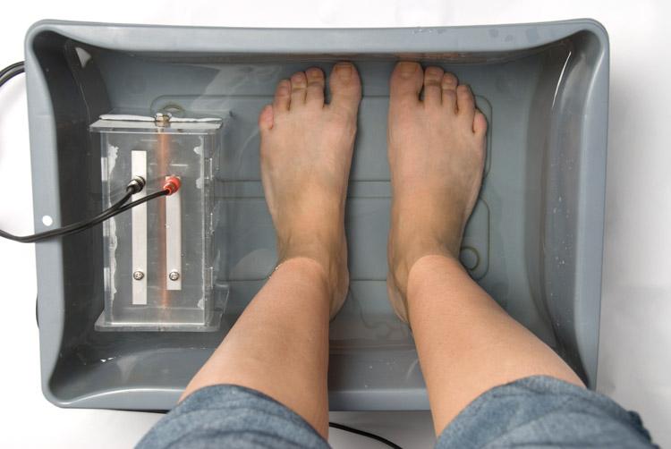foot detox elektrolyse