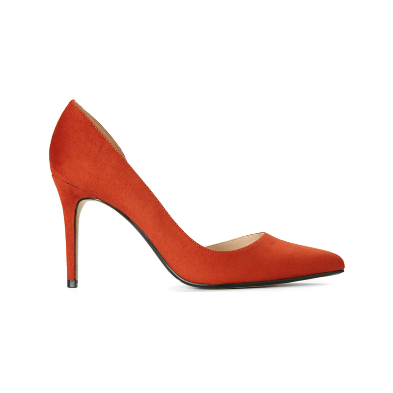 Pumps in Orange