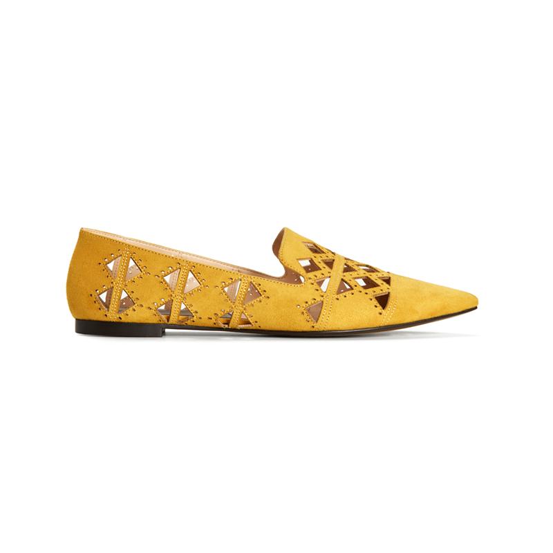 Gelbe Loafer von Mango