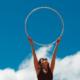 hula hoop fitness frau