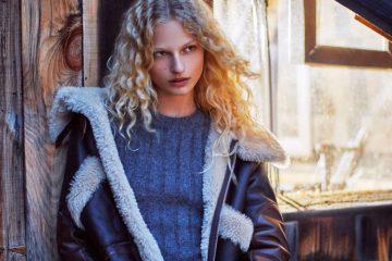 Lammfelljacke von Zara