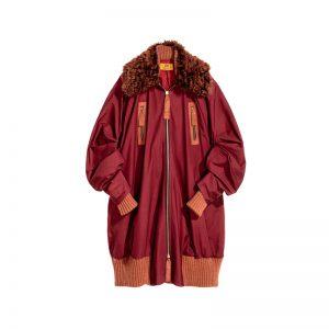 Roter Mantel von H&M