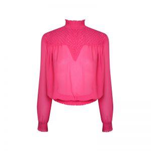 Bluse in Pink von Miss Selfridge