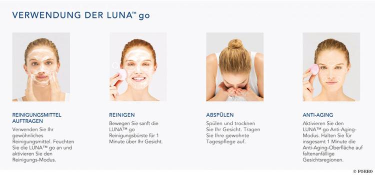 foreo-luna-anwendung