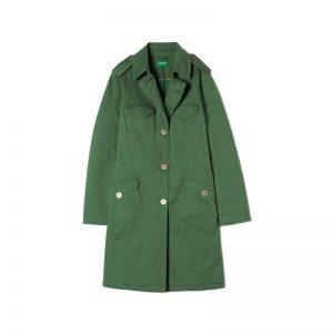 Grüner Mantel von Benetton