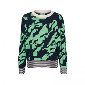 Grüner Pullover von Vera Moda