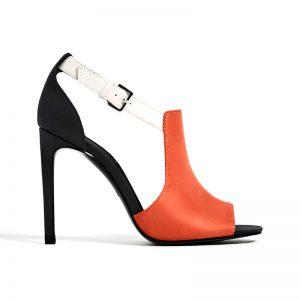 Sandale in Orange von ZARA