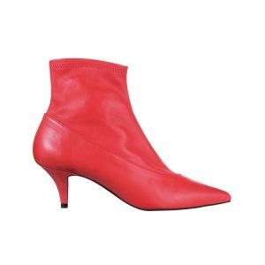 Rote Sock Boots von Topshop