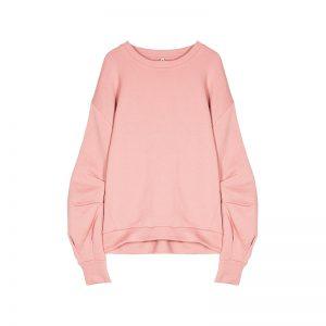 Sweatshirt in Rosa