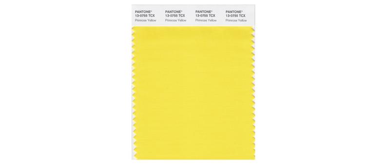 Trendfarbe Primrose Yellow