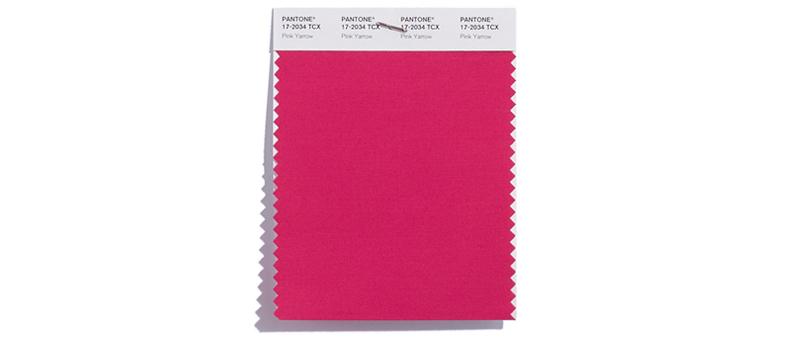 Trendfarbe Pink Yarrow