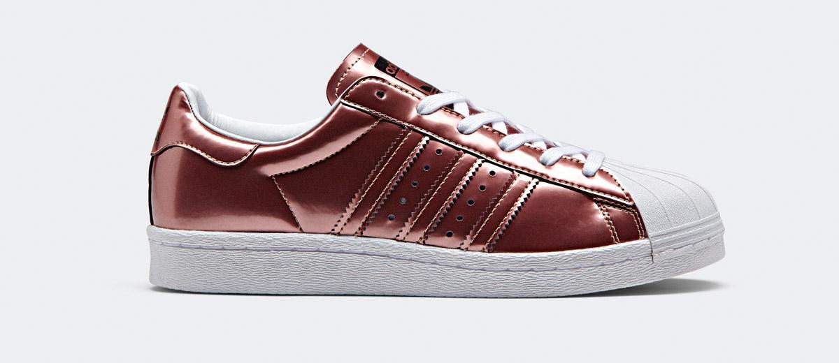 adidas rosegold sneaker