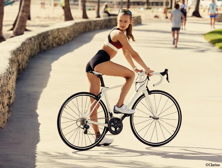 clarins cellulite fahrrad