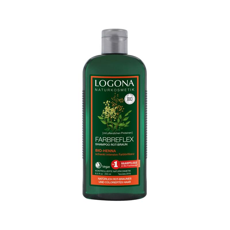 henna logona shampoo
