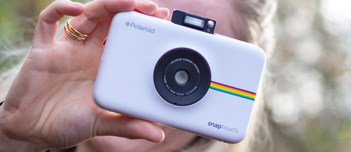 Polaroid Snap Touch Sofortbildkamera Im Test