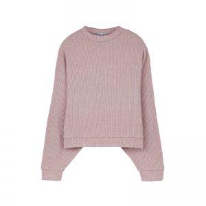 Pullover in Rosa