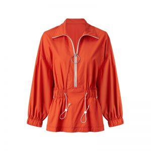 Bluse in Orange