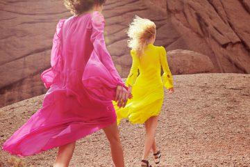 Asymmetrische Kleider und Röcke