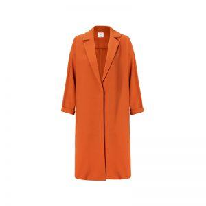 Mantel in Orange