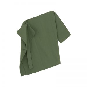 Grünes One-Shoulder-Top von Cos