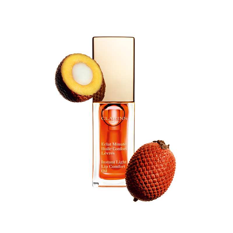 lippenoel clarins tangerine