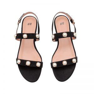 Perlen-Sandale von H&M