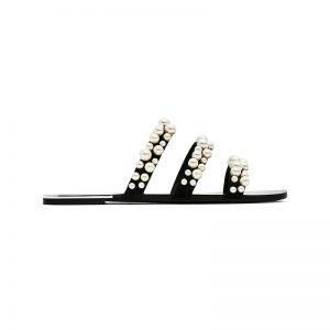 Perlen-Sandale von ZARA