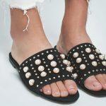 Schuhtrend Perlen-Sandalen
