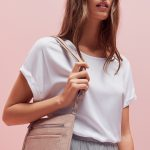 Weißes T-Shirt stylen