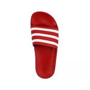 Rote Adiletten von adidas