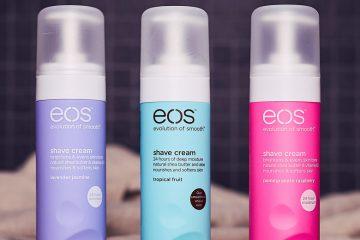 eos shave cream rasur