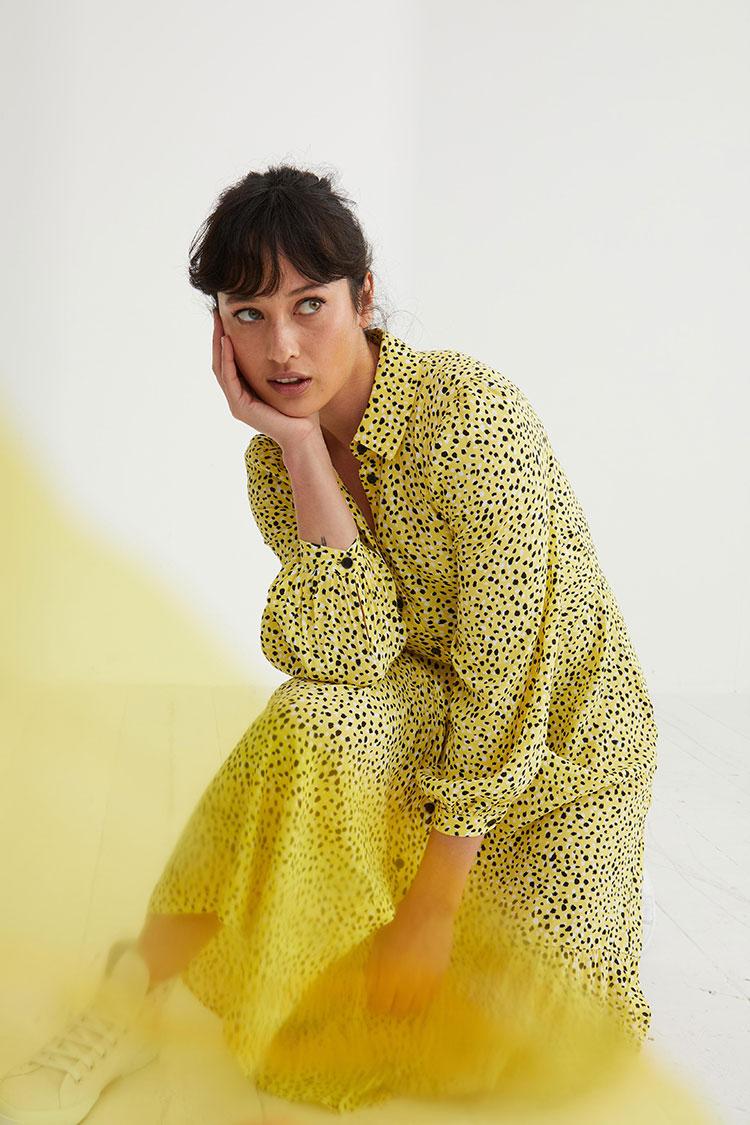 gelb trendfarbe mode