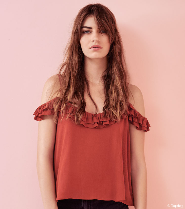 topshop-schulterfrei-carmenbluse-rot