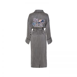 Kimono mit Streifen