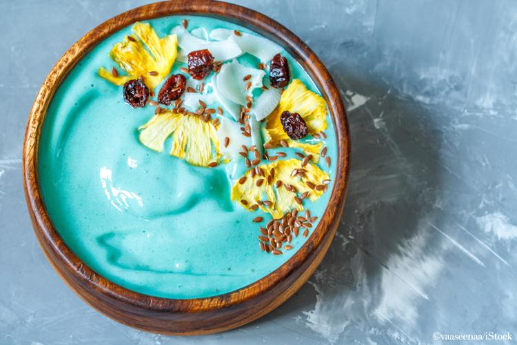mermaid blue bowl