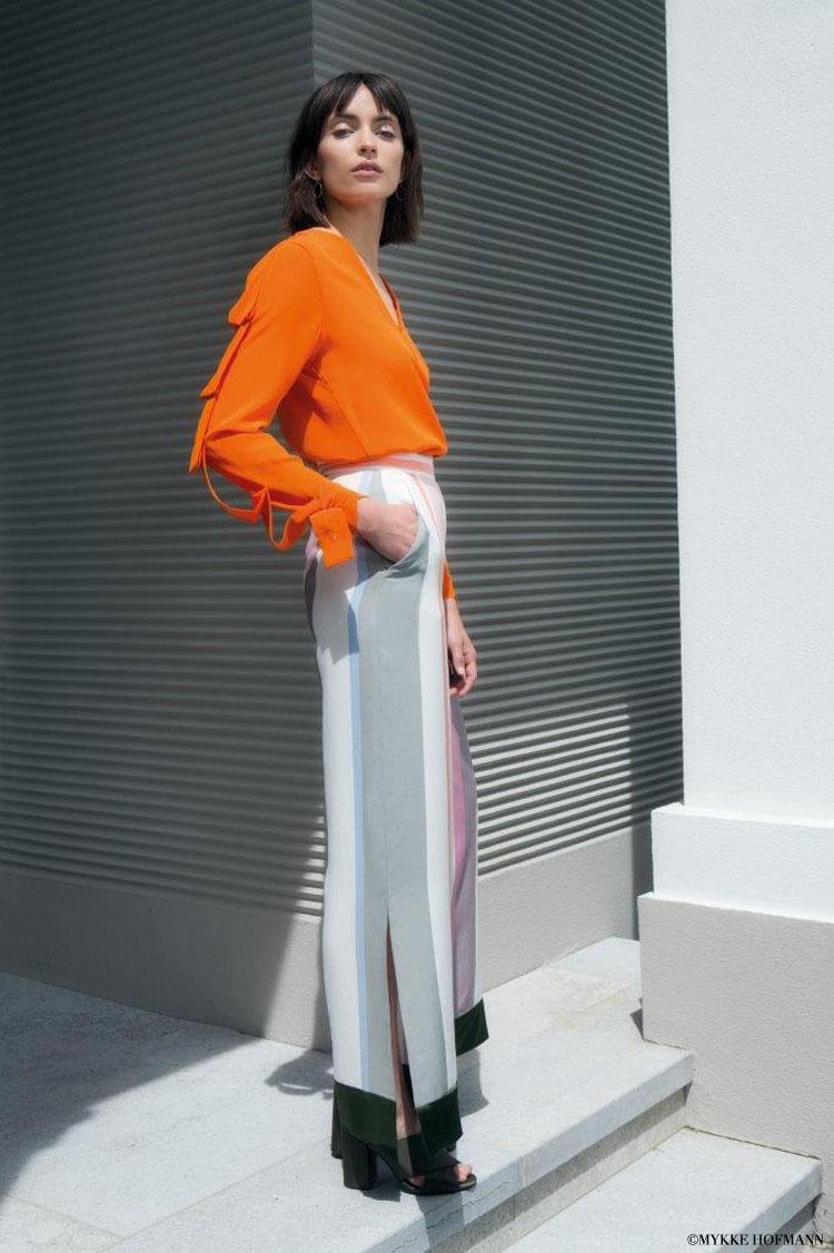 oberteil orange
