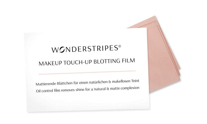 wonderstripes blotting film