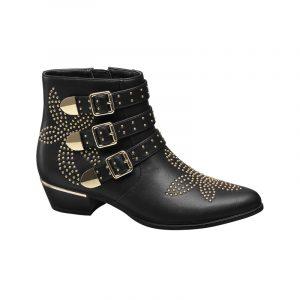 Schwarze Cowboy Boots von Deichmann