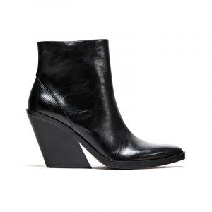 Schwarze Cowboy Boots