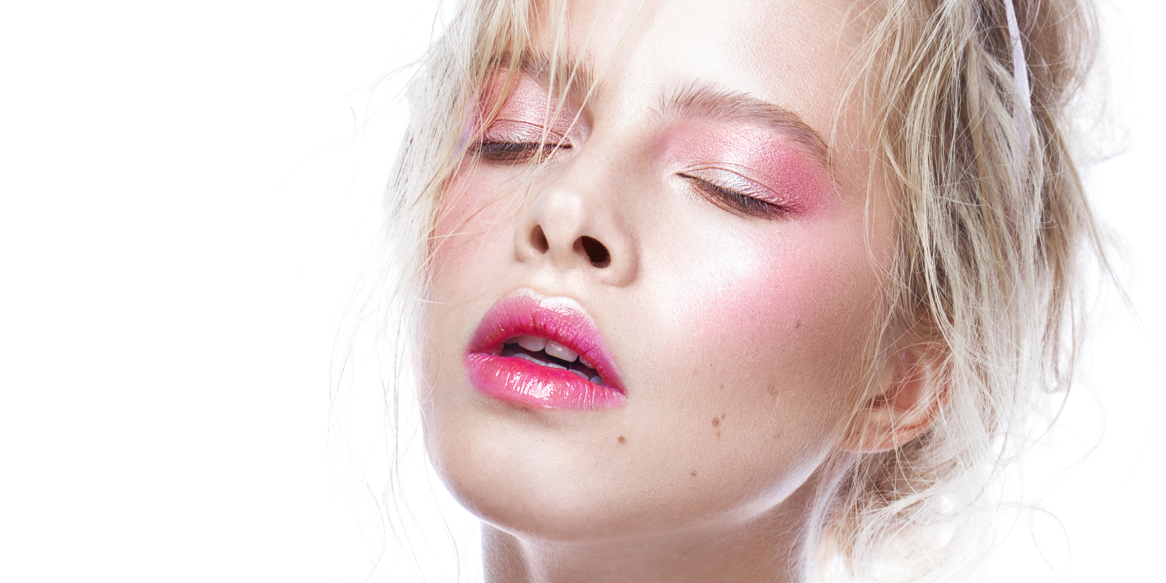 dewy skin make-up