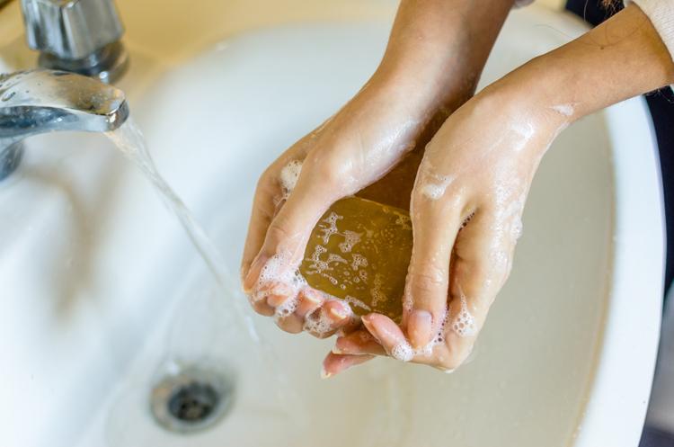seife haende waschen