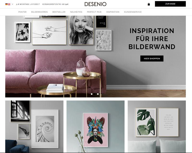 Poster Shop Desenio