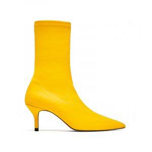 Gelbe Sock Boots