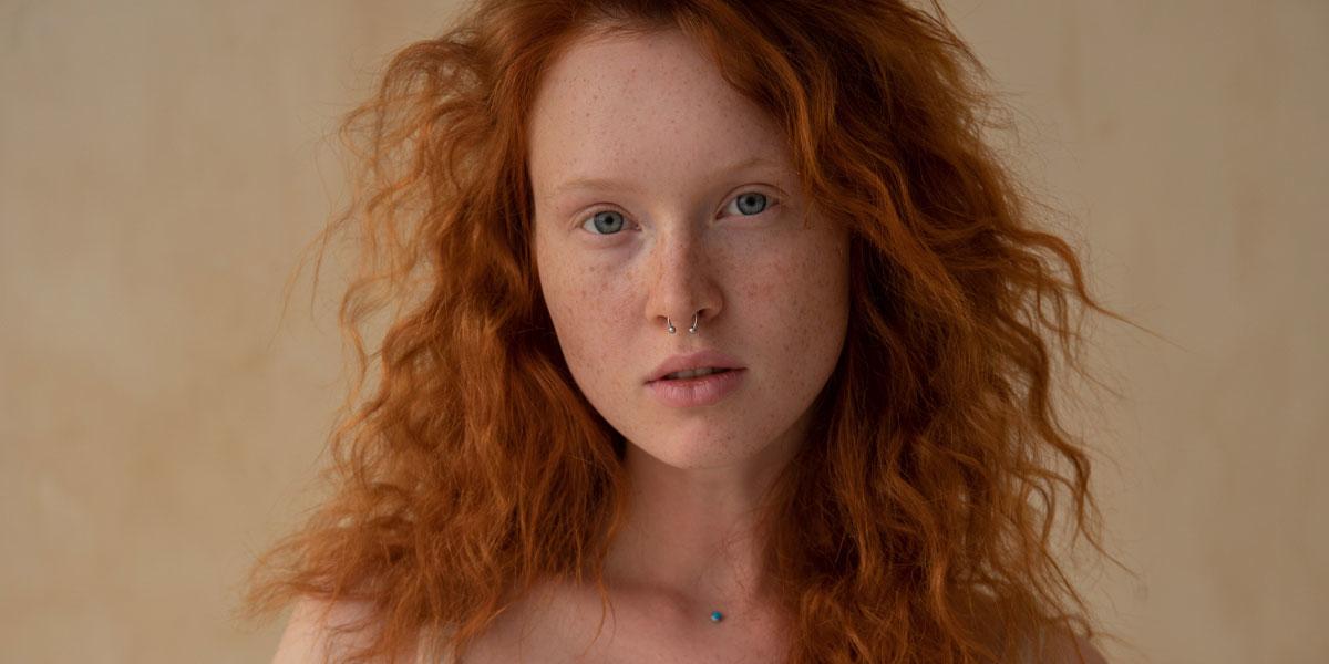 rote haare pflege
