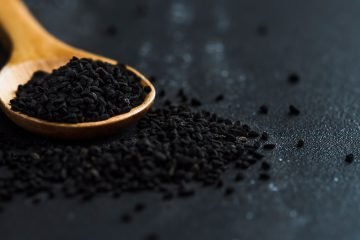 schwarzer sesam superfood