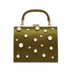Kleine Tasche mit Perlen