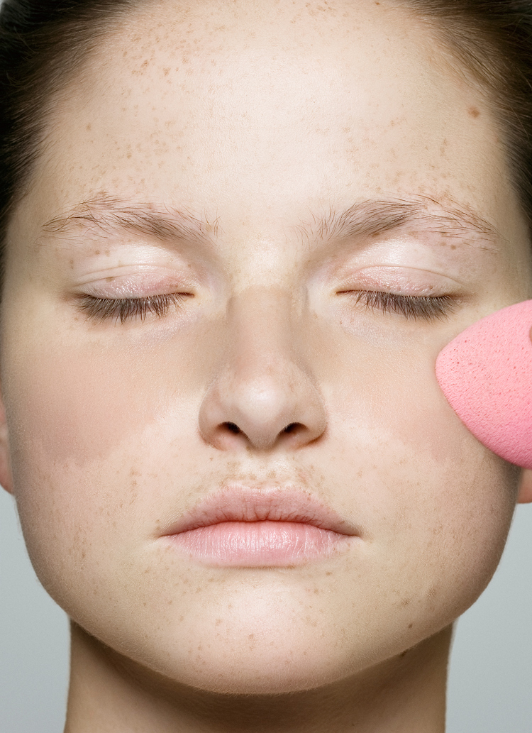 make-up auftragen