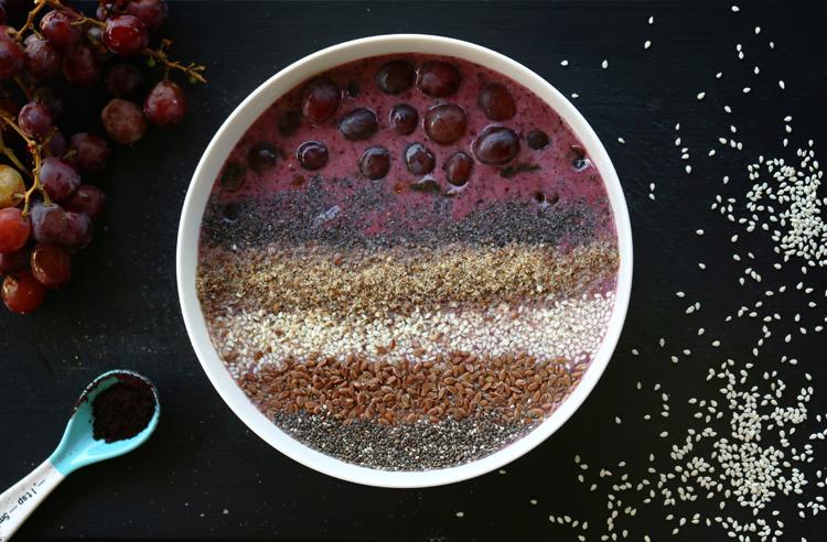 leinsamen bowl